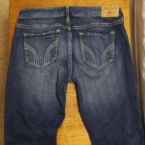 Hollister dark skinny jeans size 5